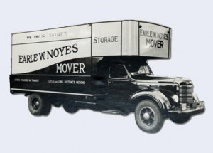 old noyes moving truck