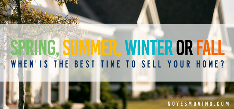 When is the best time to sell your home When is the best time to move house